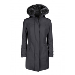 Giacca donna RRD WINTER LONG LADY FUR grigio