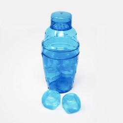 Shaker colorato con ghiaccio sintetico