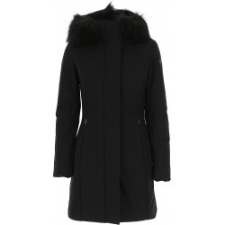 Giacca donna RRD WINTER TRENCH LADY FUR T con collo in pelliccia. W19502FT