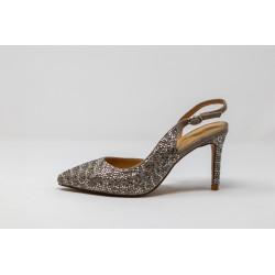 Scarpe donna con tacco sandalo gioiello ALMA EN PENA V20081