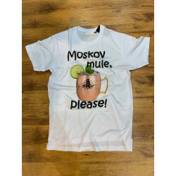 T-Shirt uomo cocktail stampa moscow mule hangover