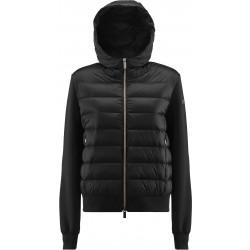 RRD WINTER FLEECE DUCK HOOD LADY  W20632 giacca donna  nera con cappuccio