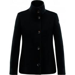 RRD NEO VELVET K LADY W20553 cappotto donna corto nero   scamosciato  bottoni
