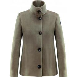 RRD NEO VELVET K LADY W20553 cappotto donna corto beige scamosciato  bottoni