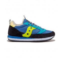SAUCONY scarpe uomo JAZZ ORIGINAL PEAK blu e giallo con in orsetto S70512-3