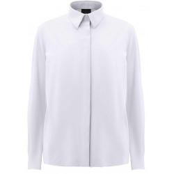 RRD SHIRT OXFORD PLAIN LADY W20761 camicia donna bianco elasticizzata traspirante