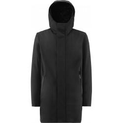 RRD CITY RAIN PARKA giacca uomo W20031 nero imbottito in ecopiuma con cappuccio