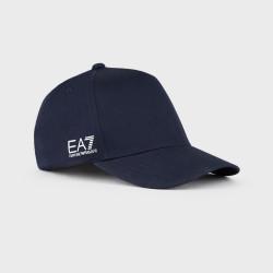 ARMANI accessori uomo TOKYO 2020 blu navy cappello cotone regolabile