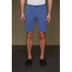 RRD pantaloni uomo TECNO WASH CHINO azzurro shorts lycra elasticizzati