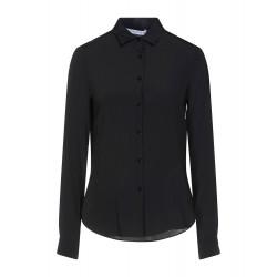 RRD SHIRT OXFORD PLAIN LADY W20761 camicia donna nero elasticizzata traspirante