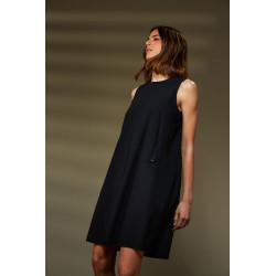 RRD abito donna AUDREY DRESS LADY nero in lycra elasticizzato