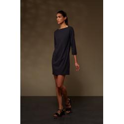 RRD abito donna OXFORD BOAT LADY nero in lycra elasticizzato