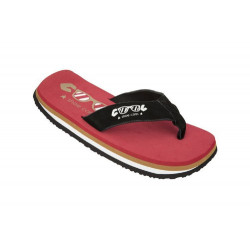 COOL SHOES scarpe uomo ORIGINAL rosso e nero infradito
