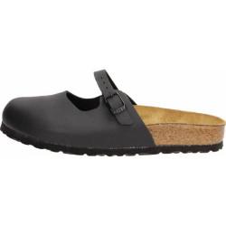 BIRKENSTOCK sandalo donna MARIA nero chiuse davanti con laccio regolabile