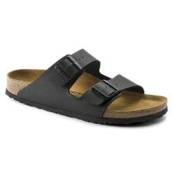 Birkenstock scarpe uomo ARIZONA con doppia fascia nero opaco