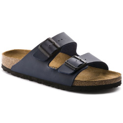Birkenstock scarpe uomo ARIZONA con doppia fascia blue opaco