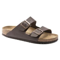 Birkenstock scarpe uomo ARIZONA con doppia fascia marrone scuro
