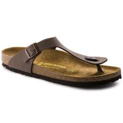 Birkenstock scarpe uomo GIZEH mocca infradito 0043751