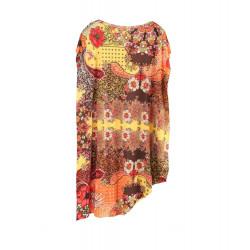EFFEK abito donna SUMMER OF LOVE fuori acqua lungo fisso jersey 0627